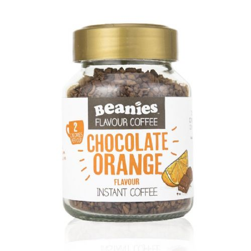 Beanies Chocolate Orange Flavour Instant Coffee 50g